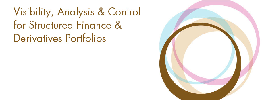 Visibility, analysis & control for structured finance and derivatives portfolios